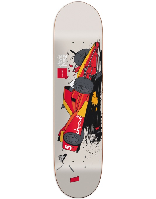 Chocolate Perez Car Crash Pro Deck - 8.25""