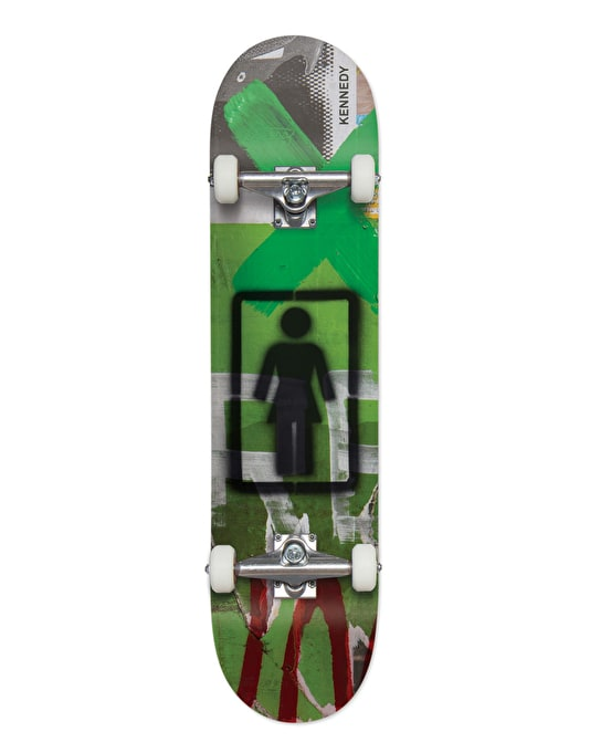 Girl Kennedy Post No Bills Complete Skateboard - 7.75""