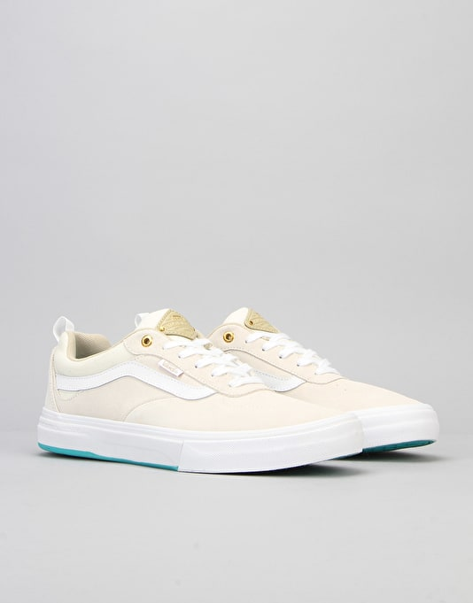 Vans Kyle Walker Pro Skate Shoes - White/Ceramic