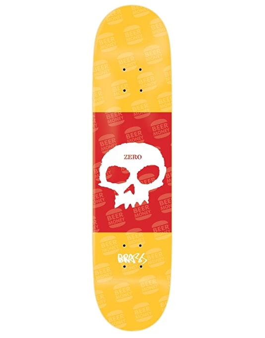 Zero Boserio Single Skull Pro Deck - 8.375""