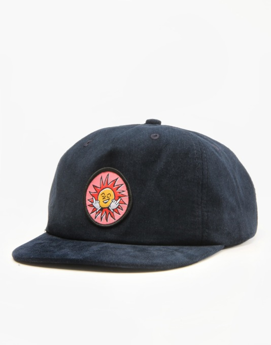 Pass Port Fuck You Sun Cap - Navy