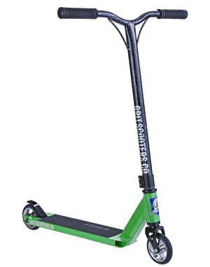 Grit Fluxx 2016 Scooter - Acid Green/Black Silver Laser