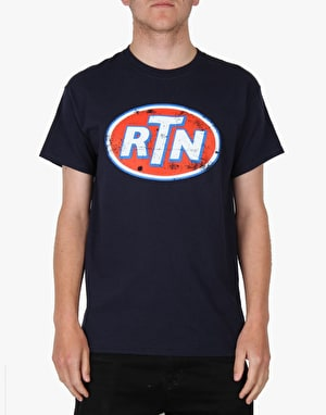 Route One Fuel T-Shirt - Flat Navy