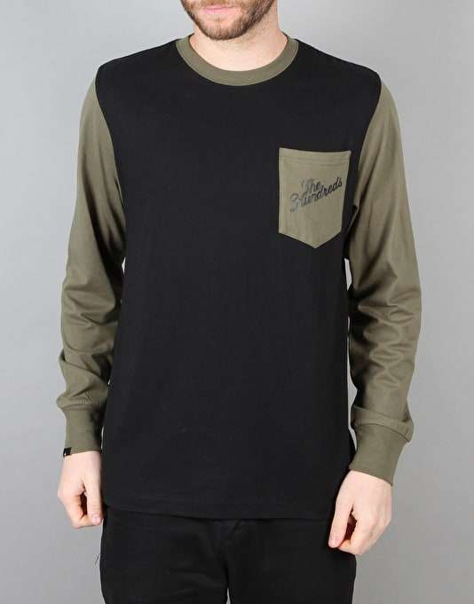 The Hundreds Marcos Long Sleeve T-Shirt - Black