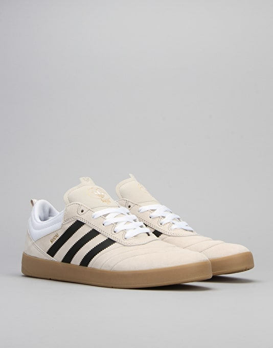 Adidas Suciu ADV 2 Skate Shoes - Mist Stone/FTWR White/Gold Met.