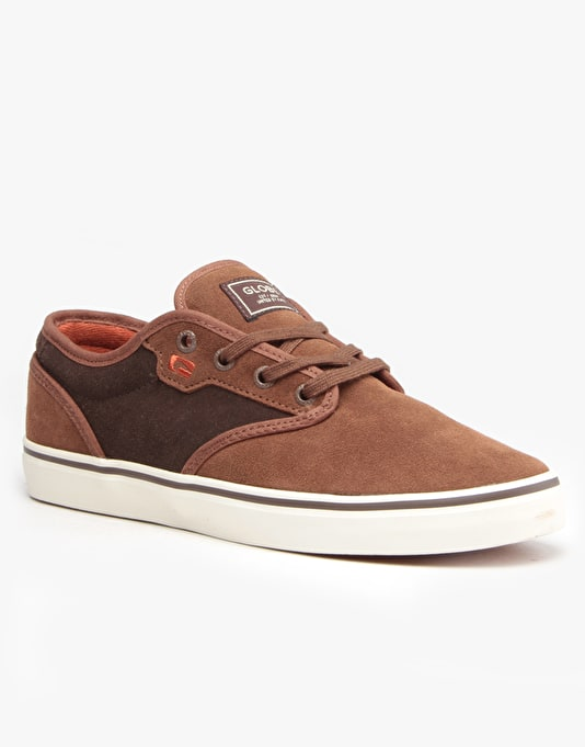 Globe Motley Skate Shoes - Brown/Choco