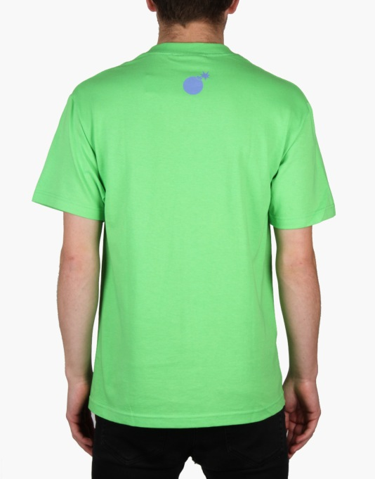 The Hundreds Mellow Meadow T-Shirt - Lime