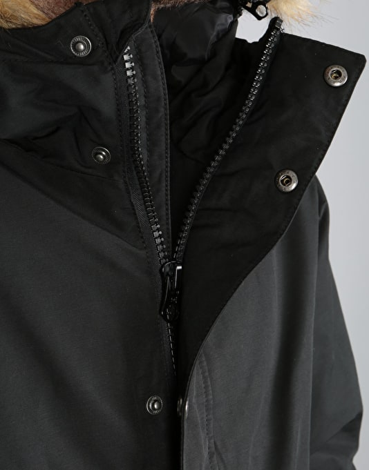 DC Bamburgh Parka Jacket - Black