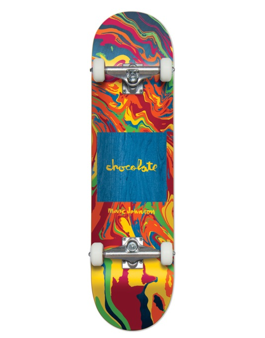 Chocolate Johnson Sumi Chunk Complete Skateboard - 8.125""