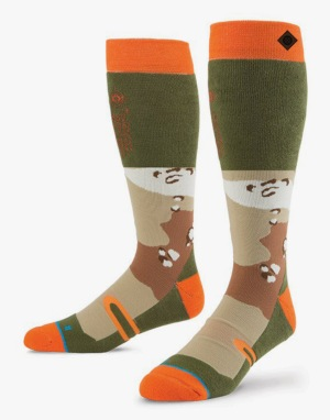 Stance Regiment 2016 Snowboard Socks - White