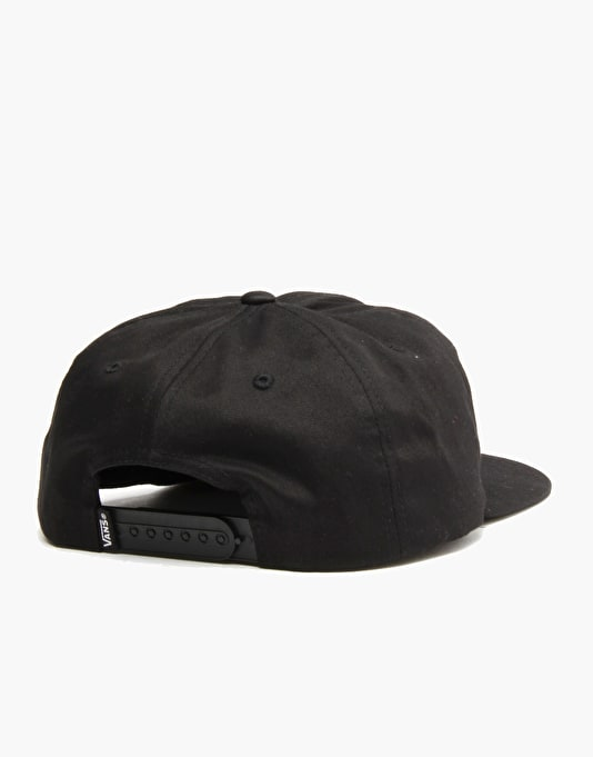 Vans Unstructured OTW Snapback Cap - Black