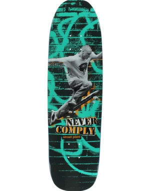 Street Plant Never Comply Team Deck - 8.5