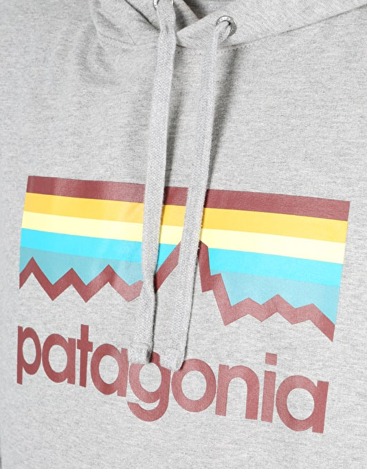 Patagonia Line Logo Pullover Hoodie - Feather Grey