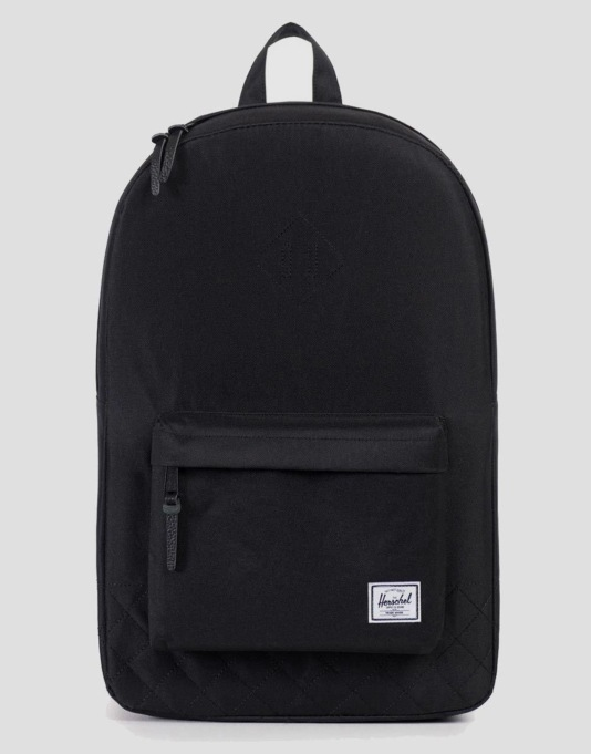 Herschel Supply Co. Quilted Heritage Backpack - Black