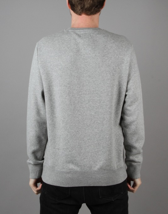 Converse Core Crew Neck - Vintage Grey Heather