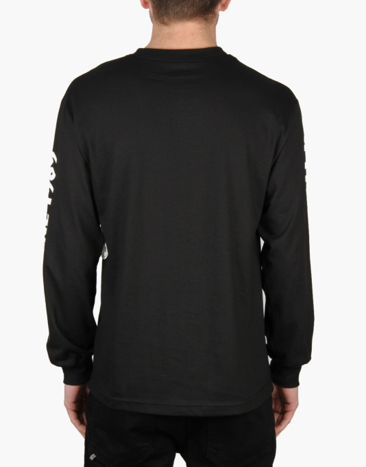 Spitfire x Route One Custom Bighead L/S T-Shirt - Black