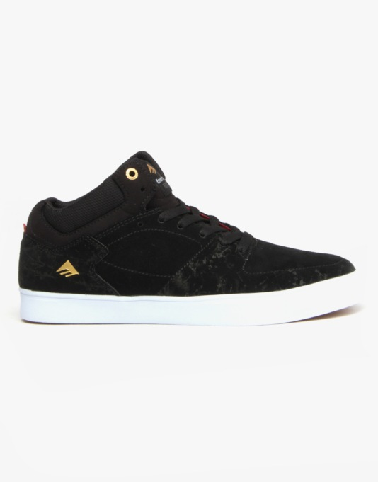 Emerica The Hsu G6 Skate Shoes - Black/White
