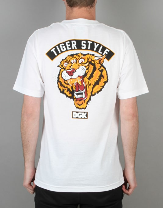 DGK Tiger Style T-Shirt - White