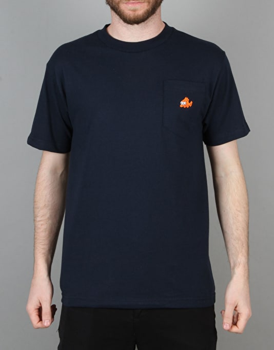 Acapulco Gold Blinky Pocket T-Shirt - Navy