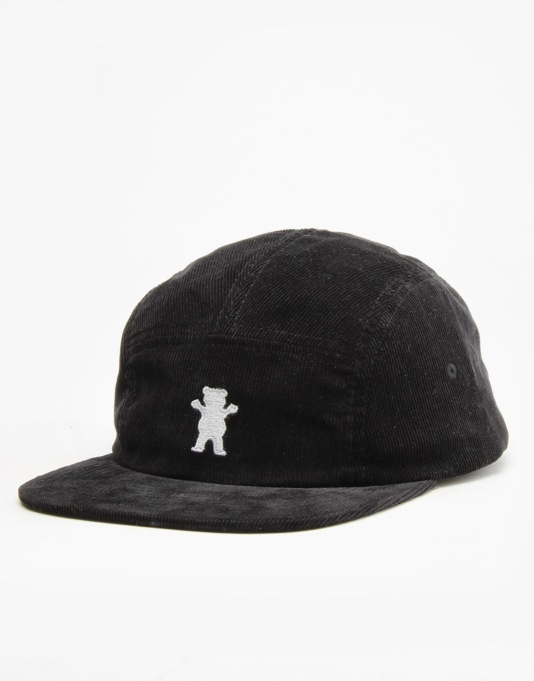 Grizzly Members Only Camp Cap - Black