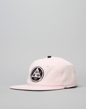 Welcome Talisman Unstructured Snapback Cap - Pink
