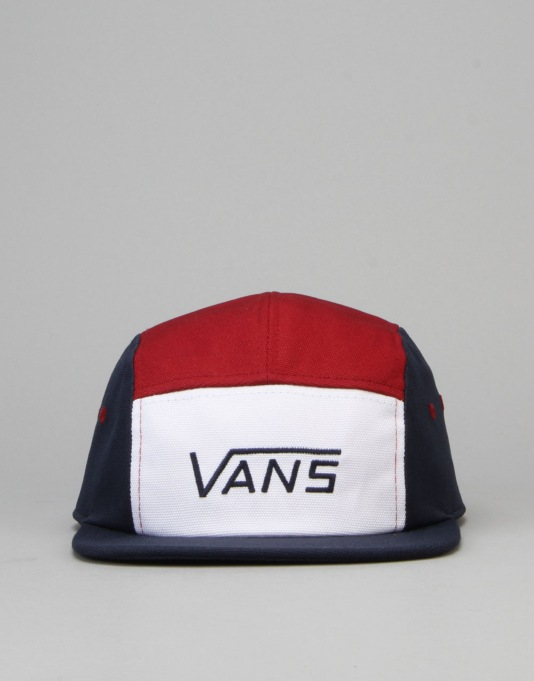 Vans Davis 5 Panel Cap - Dress Blue/Rhubarb