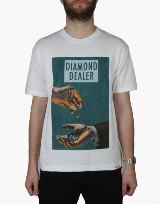 Diamond Supply Co. Dealer T-Shirt - White