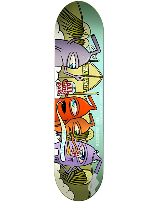 Toy Machine Leabres Sect Heaven Pro Deck - 8.25""