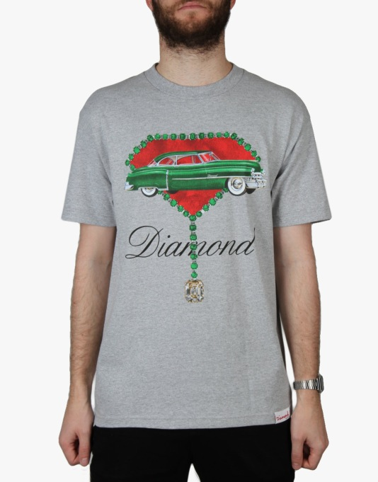 Diamond Supply Co. Caddy T-Shirt - Heather