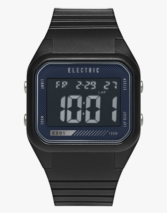 Electric ED01 Watch - Black