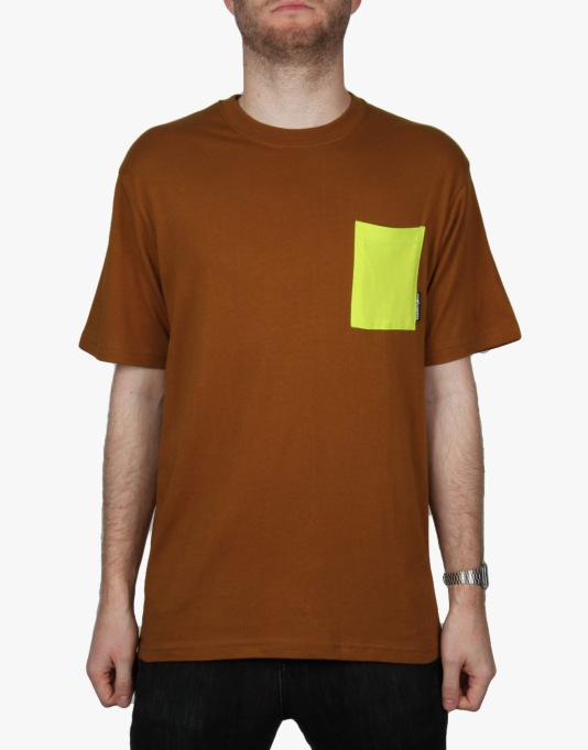 The Hundreds Reed T-Shirt - Brown