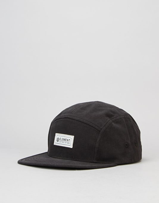 Element Elder 5 Panel Caps - Flint Black