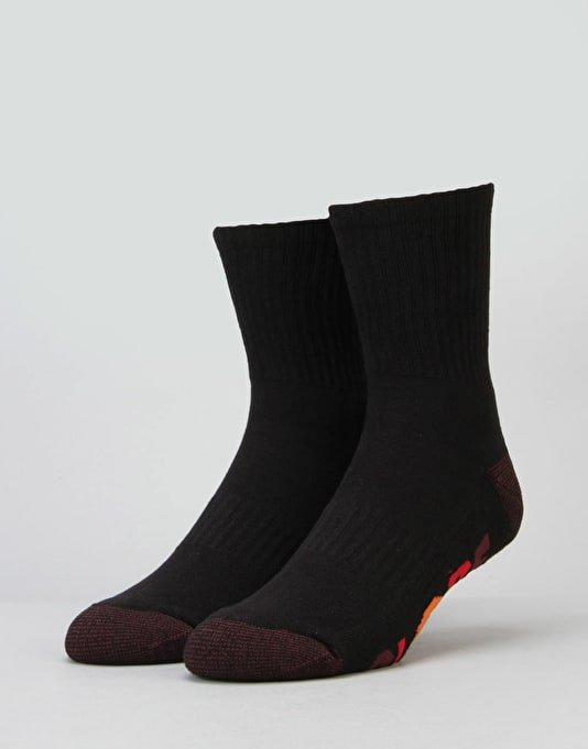 Globe Multi Stripe Crew Sock - 5 Pack