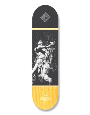 The National Skateboard Co. The Black Prince Team Deck - 8.5