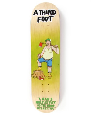 A Third Foot Axe Man Team Deck - 8.25