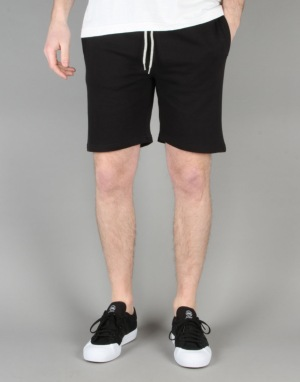 Wemoto Levin Sweat Shorts - Black Melange