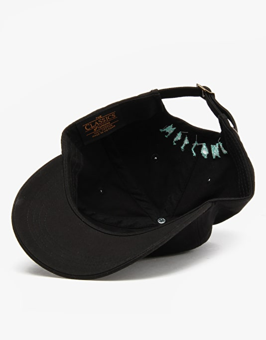 Welcome Symbol Unstructured Slider Cap - Black/Teal