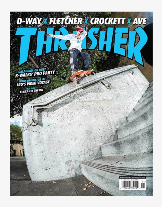 Thrasher Magazine Issue 424 November 2015