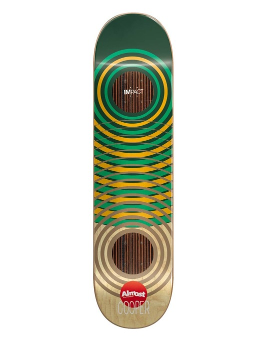 """Almost Cooper OG Impact Rings Impact Support Pro Deck - 8.25"""""""