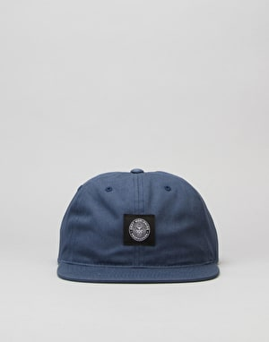 Obey Worldwide Seal 6 Panel Cap - Navy