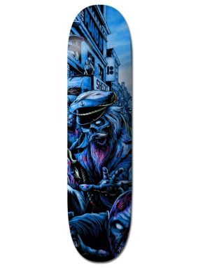 Plan B Sheckler Ripping Shred BLK ICE Pro Deck - 8