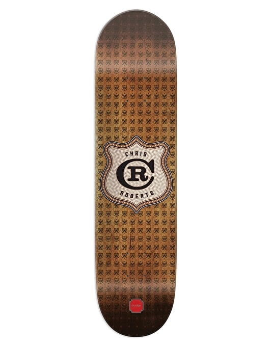Chocolate Roberts Monogram Pro Deck - 8.375""