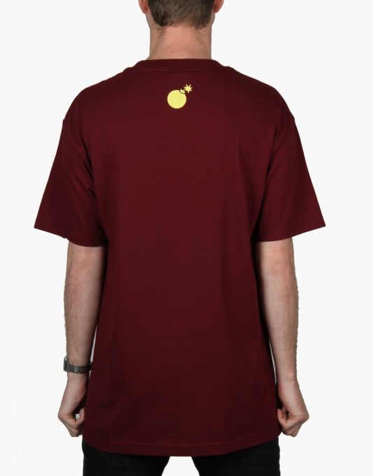 The Hundreds Gingerbread Adam T-Shirt - Burgundy
