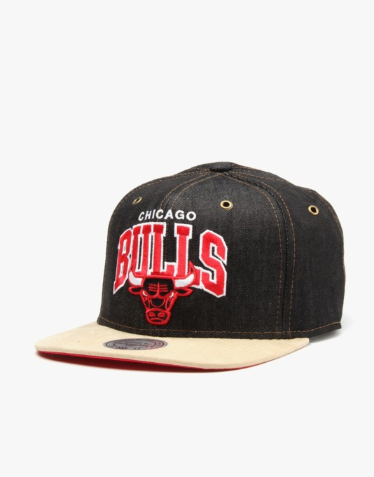 Mitchell & Ness NBA Chicago Bulls Denarch Snapback Cap - Denim
