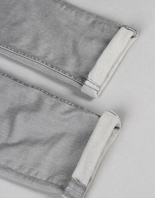 Route One Super Skinny Denim Jeans - Washed Grey