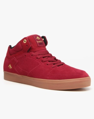 Emerica The Hsu G6 Skate Shoes - Burgundy/Gum