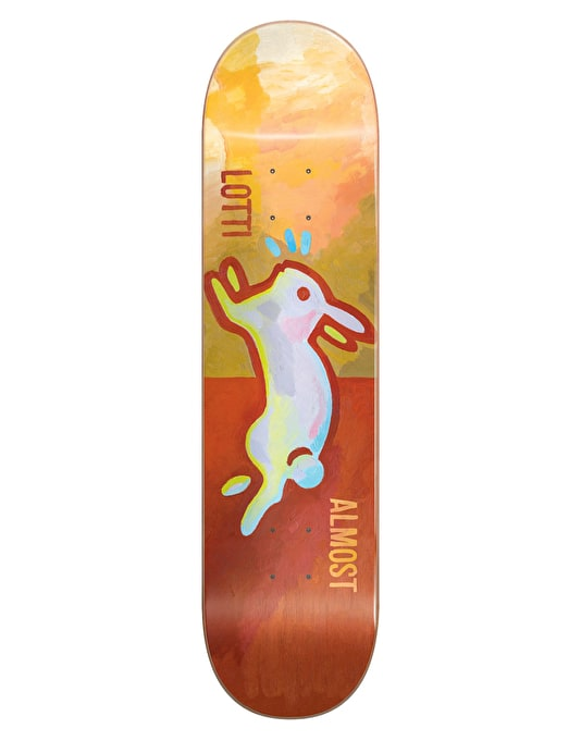 Almost x Brian Lotti Rabbit 2.0 Skateboard Deck - 8.25""