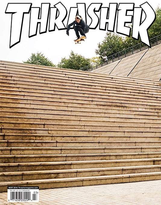 Thrasher Magazine Issue 428 March 2016