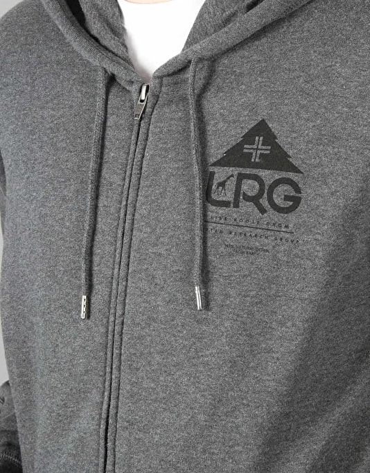 LRG One Icon Zip Hoodie - Charcoal Heather