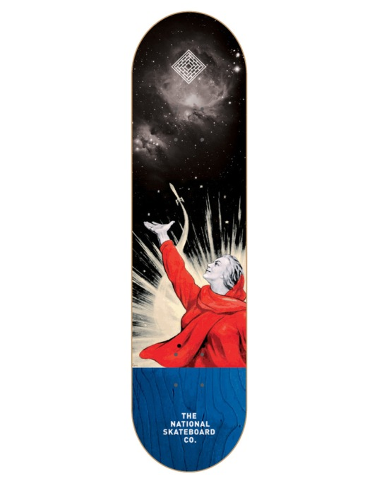 """The National Skateboard Co. Pitch Team Deck - 8.5"""""""
